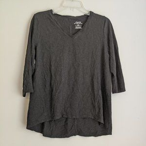 COPY - 2/20 Chicos The Ultimate Tee Black V Neck …